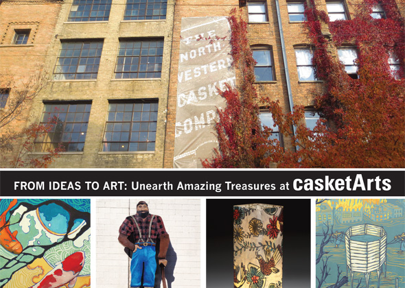 Casket Arts Events 2015